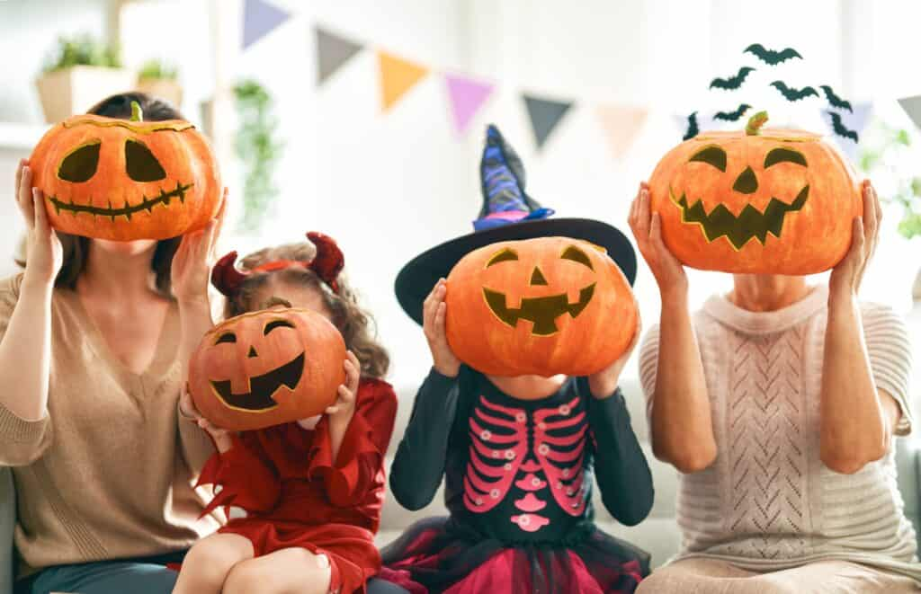halloween family intuitive eating
